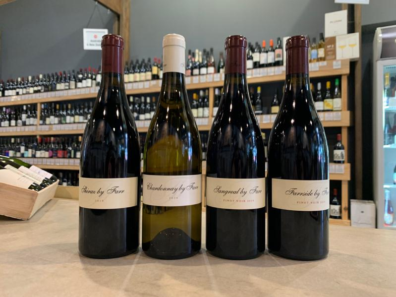 Selection of wines from By Farr